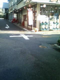 恵那駅からタグチまでの景色