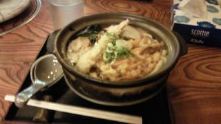 吉田うどんの鍋焼