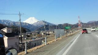 都留からみた富士山