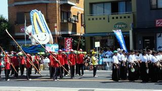 恵那市国体炬火パレード