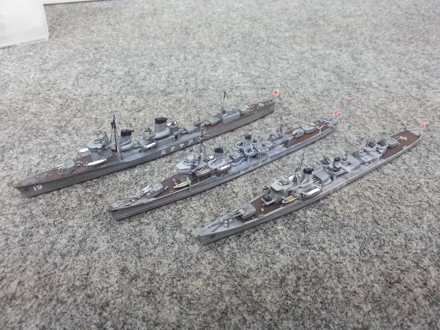 駆逐艦3隻